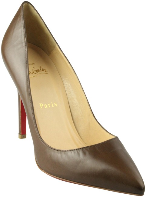 Item - Brown Pointed Toe Leather Platforms Size EU 38.5 (Approx. US 8.5) Narrow (Aa, N)