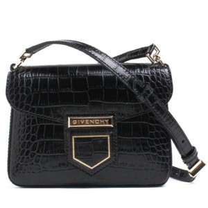 Givenchy Crocodile Leather Embossed Cross Body Bag