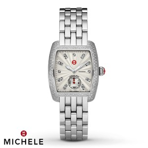Michele NEW Michele Urban Mini Diamond, Diamond Dial MWW02A000508 Watch