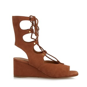 Chlo Brown Wedges