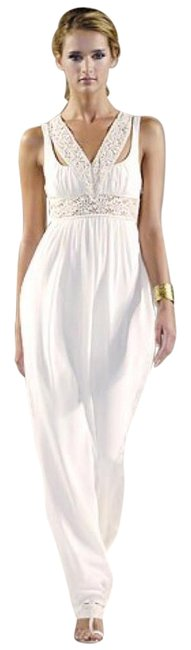 Item - Ivory Runway Wedding Gown Long Formal Dress Size 2 (XS)