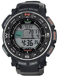 Casio Casio Pro Trek Tough Solar Triple Sensor Atomic Mens Watch Prw2500r-1cr