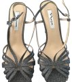 Nina Shoes charcoal with sparkle Formal