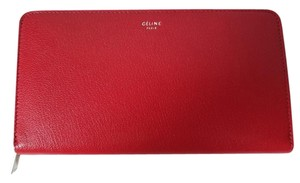 Cline Wallet Wallet Black Chili Red Clutch