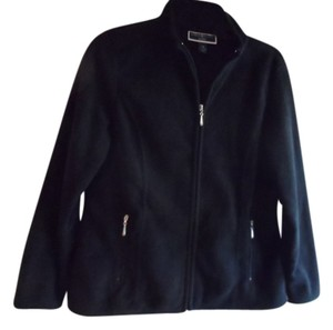 Karen Scott Fleece Spring black Jacket