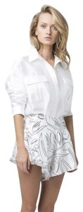 C/meo Collective Button Down Shirt White