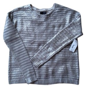 a.n.a. a new approach Metallic Casual Night Out Date Night Knit Sweater