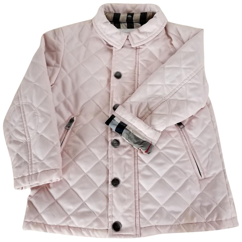 Powder Pink Girls Jerry Quilted Jacket Size 0 Xs Tradesy