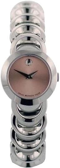 Movado Movado,Rondiro,Ladies,Watch,Silver,Pink