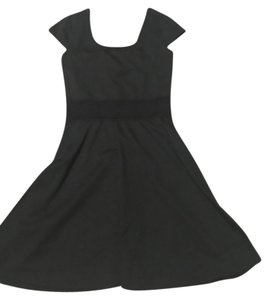 Xhilaration short dress Black Skater Cutouts Sundress on Tradesy