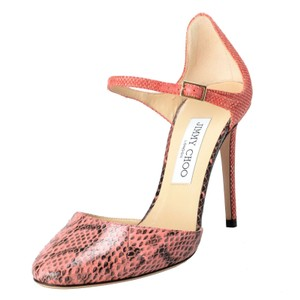 Jimmy Choo Coral Pink Pumps