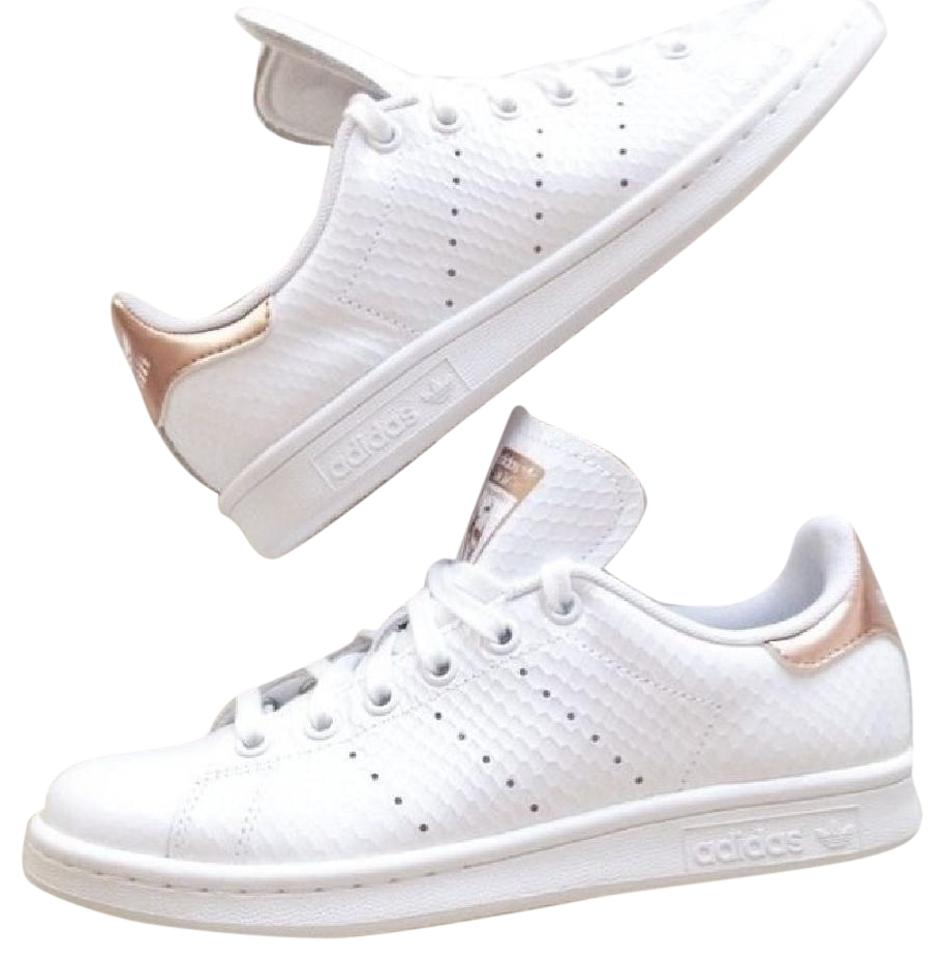 new arrival a3f4b baec6 White Copper Metallic Rose Gold Sneakers Size US 8 Regular (M, B) 45% off  retail