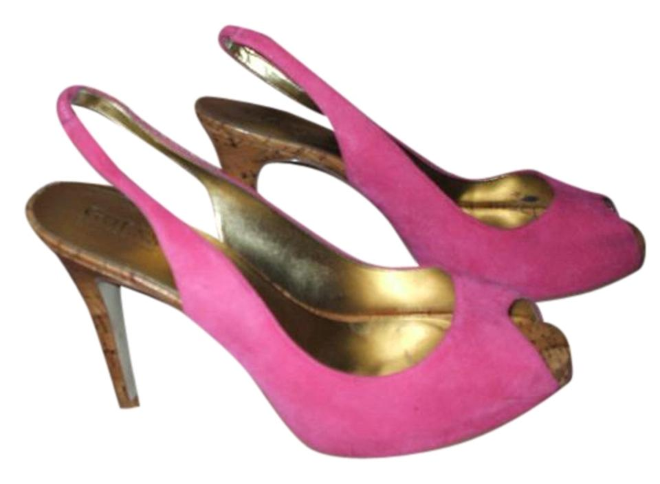 fa69d7f328e Guess Hot Pink Open-toe Slingback Stiletto Heels. Formal Shoes Size US 9  Regular (M, B) 65% off retail