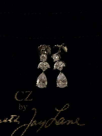 BHLDN Silver Crystal Petit Drop Earrings Image 3