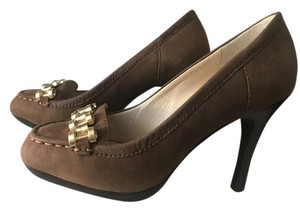 Daniblack Brown Pumps