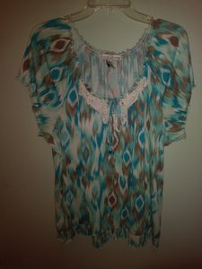 French Laundry Top Multi-color