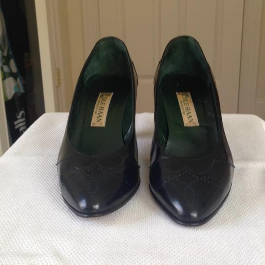 Cole Haan Spectator Medium Navy Pumps