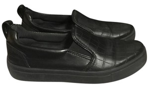 Topshop Slipons Black Flats