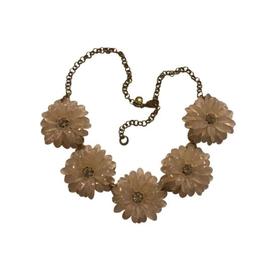 Preload https://img-static.tradesy.com/item/22340086/jcrew-pink-clear-gold-statement-necklace-0-3-540-540.jpg