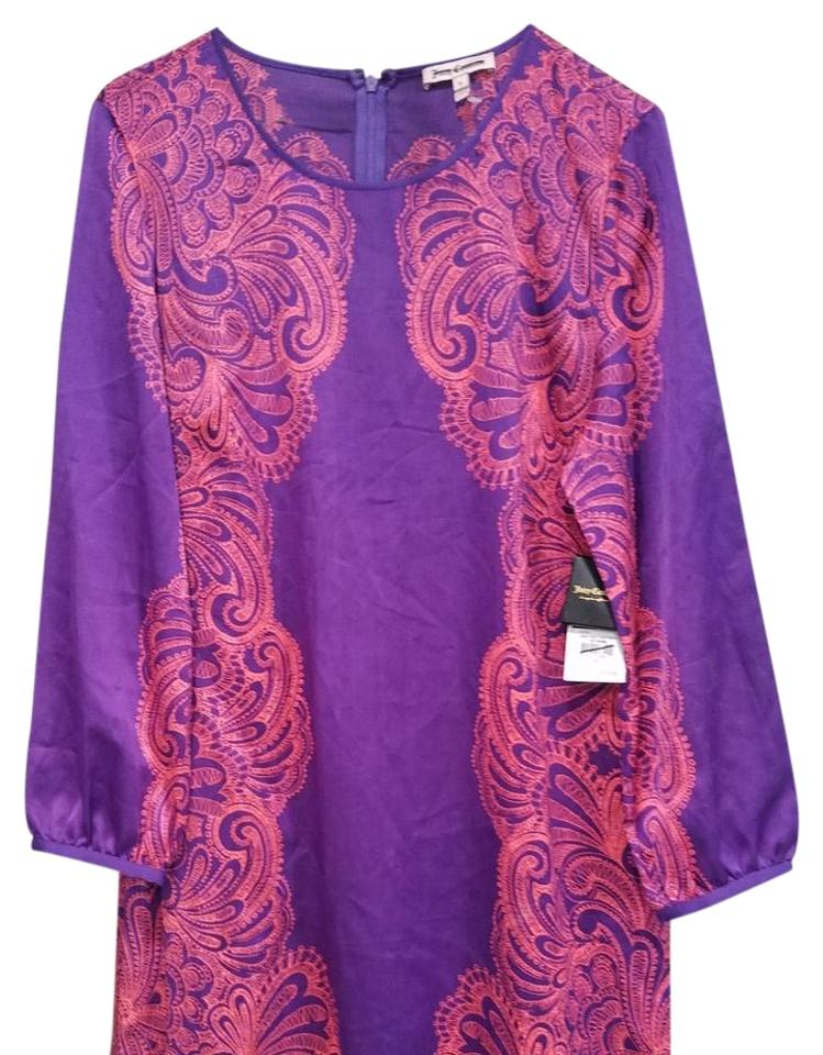 1994e5187a38 Juicy Couture Purple Mid-length Cocktail Dress Size 8 (M) - Tradesy
