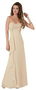Cashmere Chiffon 940f Formal Bridesmaid/Mob Dress Size 6 (S)