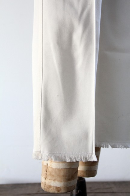 Chanel Cropped Resort Capri/Cropped Pants White