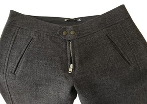 Hakei Straight Pants Grey