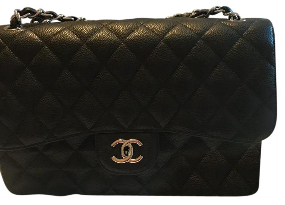 6cd0b70f0050 Chanel Classic Flap 2.55 Reissue Classic Jumbo Double Silver ...