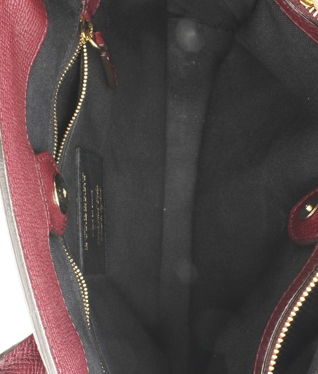 Burberry Leather Satchel in Red