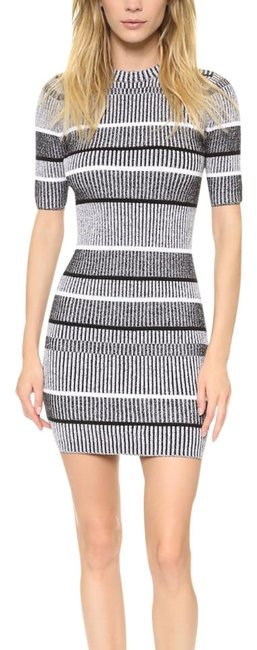 Preload https://img-static.tradesy.com/item/22340532/t-by-alexander-wang-black-grey-white-rib-knit-striped-short-casual-dress-size-8-m-0-1-650-650.jpg