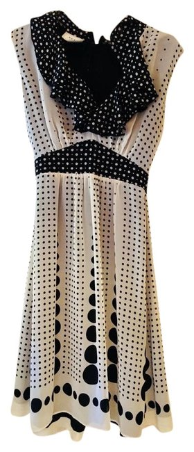 Preload https://img-static.tradesy.com/item/22340666/eci-new-york-black-and-white-mid-length-cocktail-dress-size-6-s-0-1-650-650.jpg