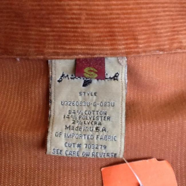 For All Mankind Light Brown Cord Jacket size small light brown Womens Jean Jacket