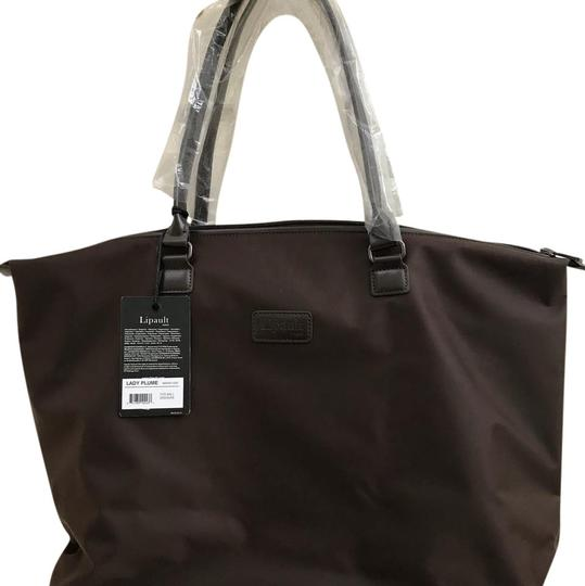 Lipault Paris Tote in chocolate