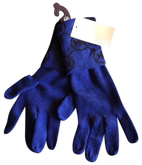 Preload https://img-static.tradesy.com/item/22340787/michael-kors-blue-logo-gloves-0-1-540-540.jpg