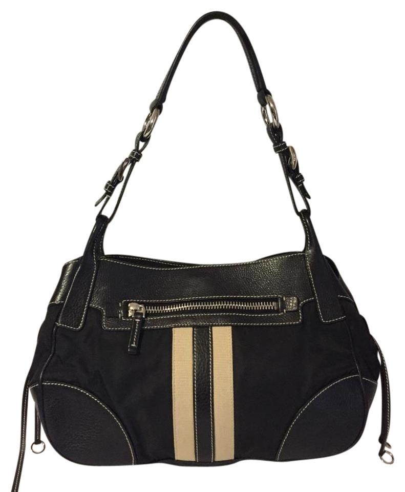 33736dcd9088 Prada Classy Black Leather/Nylon Shoulder Bag - Tradesy