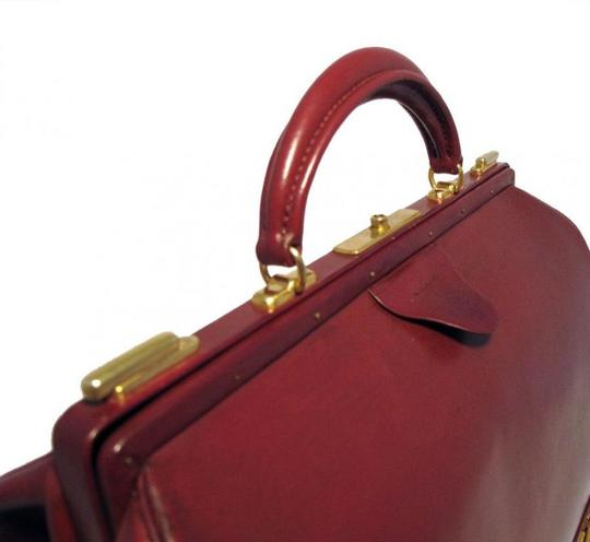 Hermès Sac Mallette Sac Mallette Rare Vintage Rouge Tote in Red