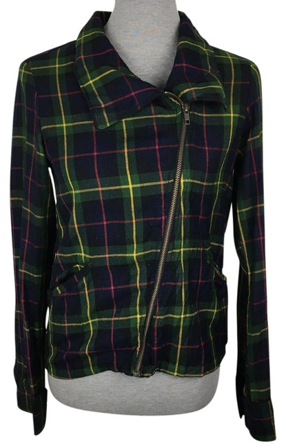 Preload https://img-static.tradesy.com/item/22340908/patterson-j-kincaid-green-yellow-navy-blue-flannel-motorcycle-jacket-size-6-s-0-1-650-650.jpg