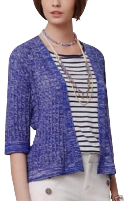 Preload https://img-static.tradesy.com/item/22340972/anthropologie-blue-sparrow-cardigan-size-4-s-0-5-650-650.jpg