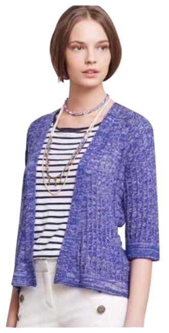 Preload https://img-static.tradesy.com/item/22340972/anthropologie-blue-sparrow-cardigan-size-4-s-0-7-650-650.jpg