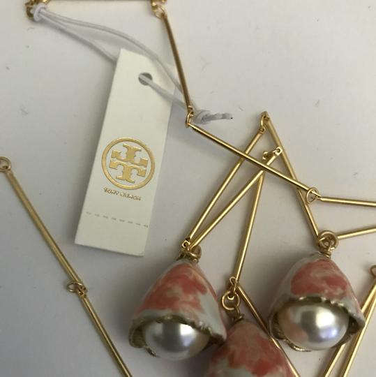 Tory Burch NWT Tory Burch pearl bud rosary necklace