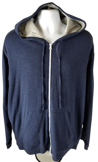 Preload https://img-static.tradesy.com/item/22341023/vince-blue-men-s-double-layer-hoodie-pullover-activewear-size-os-0-1-650-650.jpg