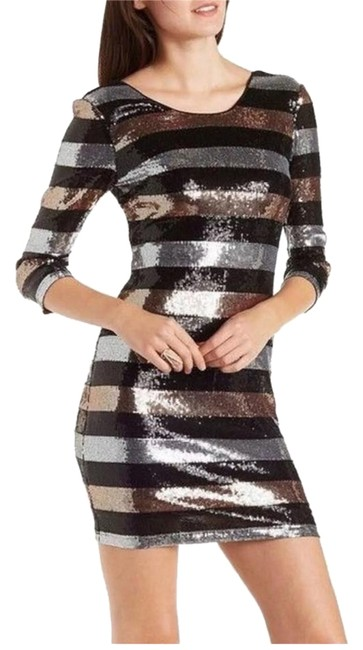 Preload https://img-static.tradesy.com/item/22341024/charlotte-russe-blackgoldsilver-sequin-short-night-out-dress-size-8-m-0-1-650-650.jpg