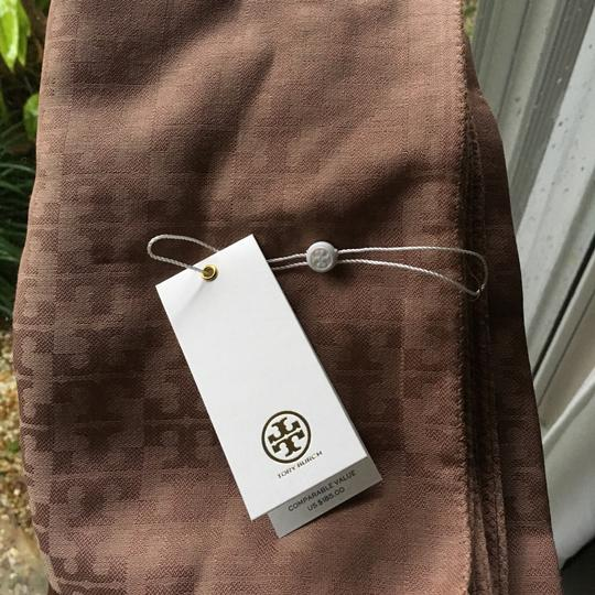 Tory Burch All-over T Jacquard Scarf