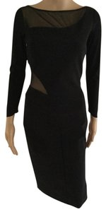 La Petite Robe di Chiara Boni Sexy Mesh Cutout Store Display Dress