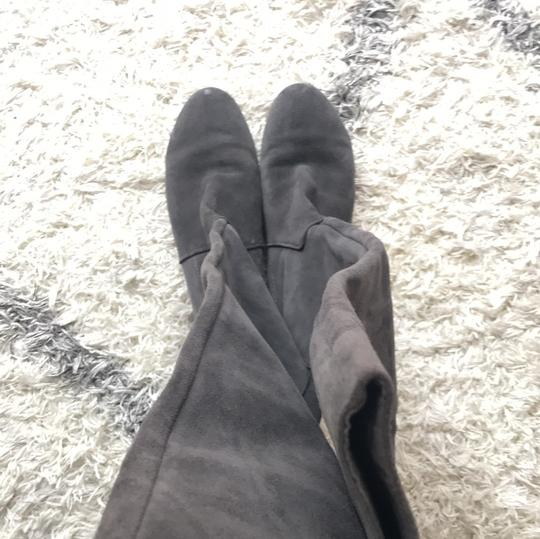 Nine West gray suede Boots