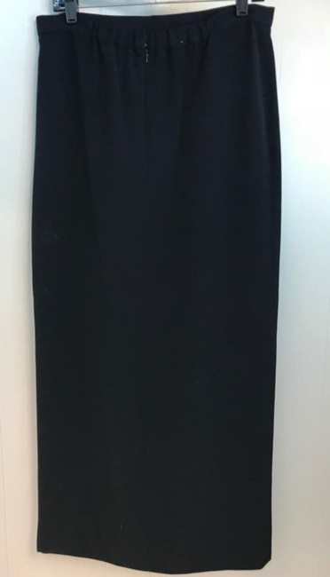 Lillie Rubin Maxi Skirt Black