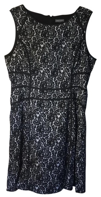 Preload https://img-static.tradesy.com/item/22341612/vince-camuto-black-and-white-printed-lace-mid-length-short-casual-dress-size-8-m-0-1-650-650.jpg