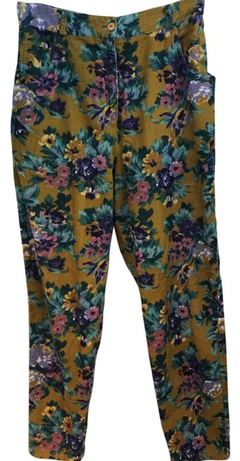 Preload https://img-static.tradesy.com/item/22341647/cacharel-multicolor-paris-floral-print-lightweight-corduroy-cotton-44-straight-leg-pants-size-8-m-29-0-2-650-650.jpg