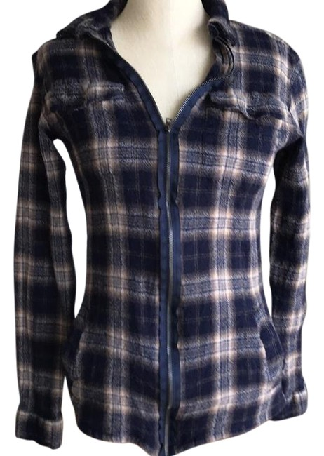 Preload https://img-static.tradesy.com/item/22341661/allsaints-navy-plaid-flannel-button-down-top-size-4-s-0-1-650-650.jpg