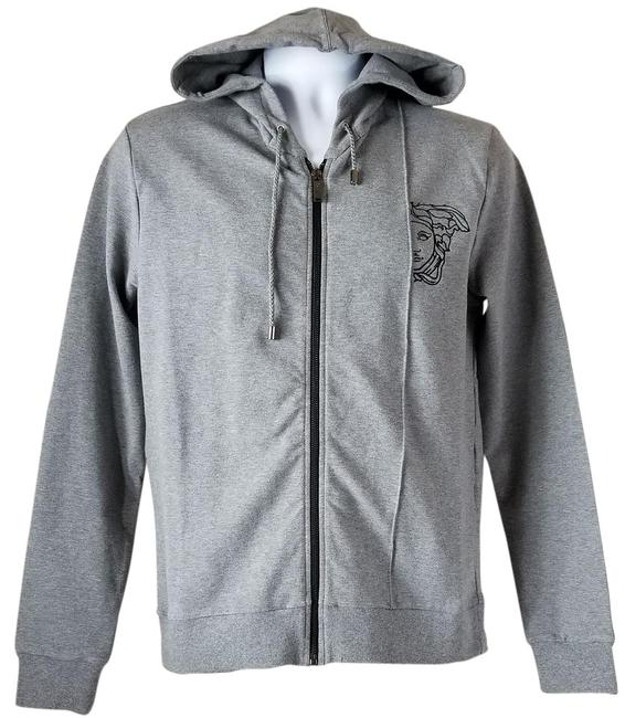 Preload https://img-static.tradesy.com/item/22341672/versace-collection-grey-men-s-medusa-logo-zipped-hoodie-jacket-size-10-m-0-1-650-650.jpg